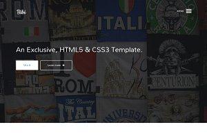 Bibi - HTML5 & CSS3 Template