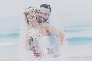 Wedding on the beach of Sardinia