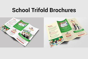 School Trifold Brochures