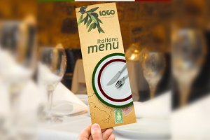 Italiano Menu Template