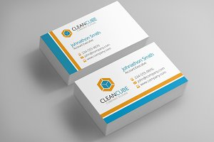 3 Corporate Business Card Templates