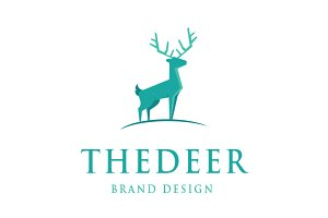The Deer Logo