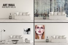 Art Wall Mock-ups VOL.6
