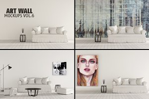 Art Wall Mock-ups VOL.6