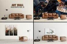 Art Wall Mock-ups VOL.8