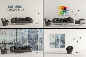 Art Wall Mock-ups VOL.9