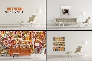 Art Wall Mock-ups VOL.10