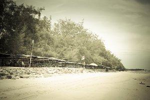 Cha Am beach in Thailand