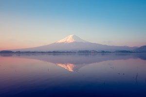 Mt Fuji from Kawaguchiko lake