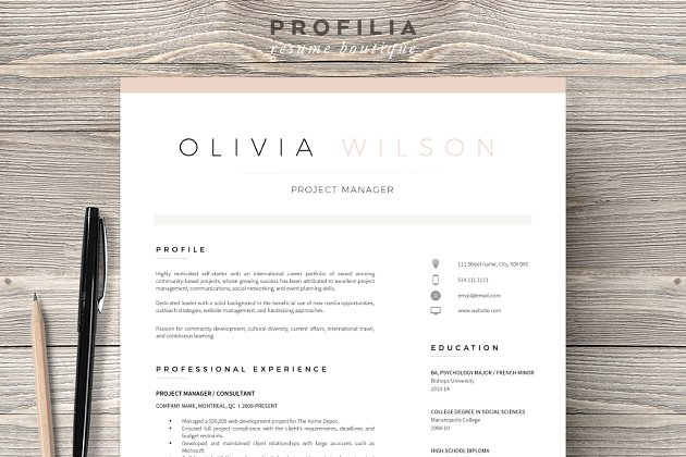 Word resume cover letter template resume templates creative word resume cover letter template spiritdancerdesigns Gallery