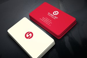 3 Colored Minimal Business Card