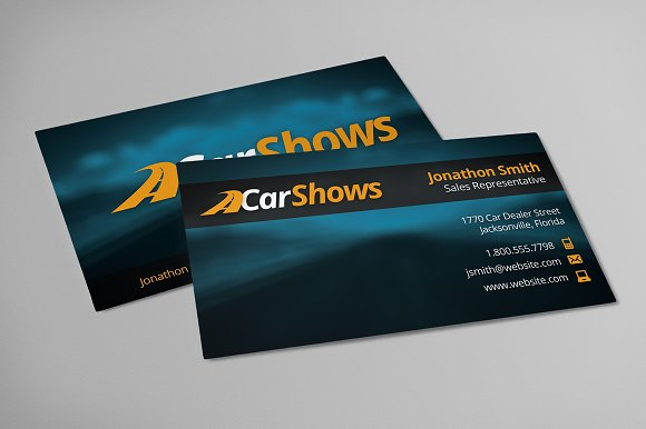 Car business cards free logo business card templates creative car business cards free logo business card templates creative market reheart Image collections