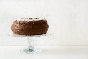 Chocolate and coconut cake