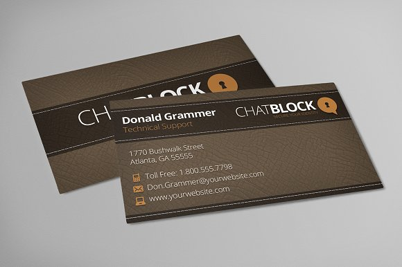 Leather Business Cards Free Logo Business Card Templates