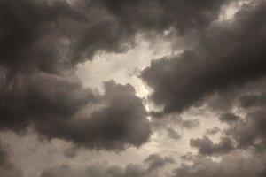 Storm cloud background