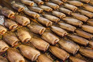 Dried fish in thailand