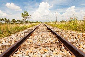 Railroad or Rail way