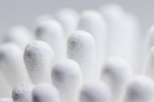 Abstract Cotton buds