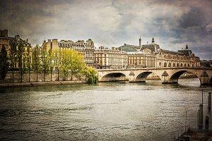 France, Paris, The Pont Royal
