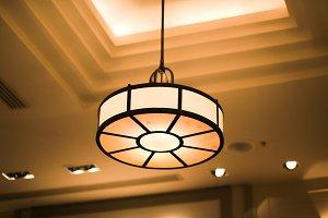 Ceiling light decor