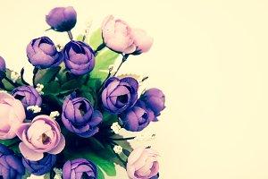 Bouquet of rose flower