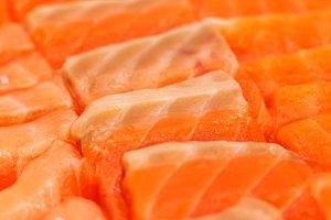 Salmon slice