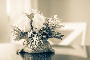 Rose bouquet decor