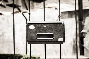 Old Mail or post box