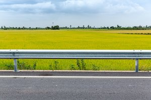 Road in urban