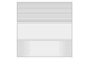 Comics pop art style blank layout