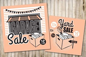 Garage Sale Flyer Poster