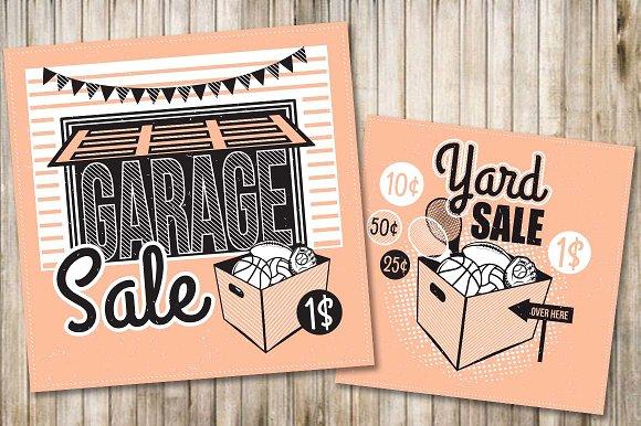 Garage Sale Flyer Poster