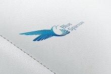 Blue Sparrow Logo Template