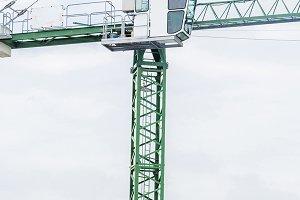 Tower Crane under blue sky