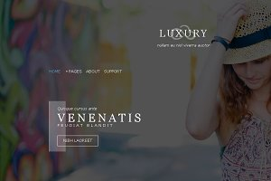 Luxury - Fashion Template