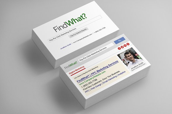 Seo business card business card templates creative market seo business card business cards reheart