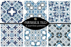 Set 9 - 6 Seamless Patterns