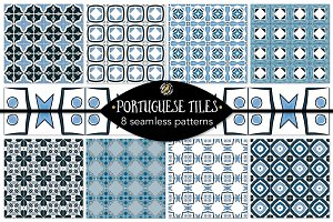 Set 10 - 8 Seamless Patterns