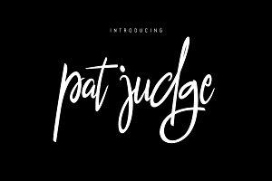 pat judge font