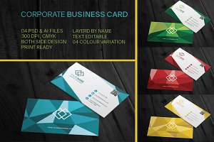 4 Corporate business cards