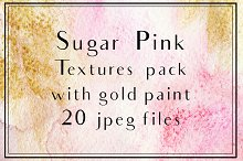 Pink watercolor backgrounds