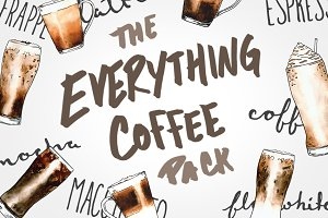 "The ""Everything Coffee"" Graphic Pack"
