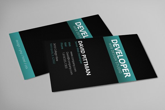 Carbon fiber business card business card templates creative market colourmoves