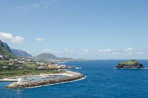 View of Garachico, Tenerife.