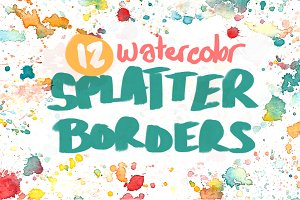 12 Splatter Borders