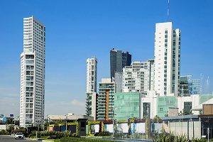 Several building of Guadalajara