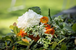 bridal bouquet of flowers