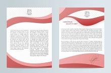 Business brochure. Flyer design