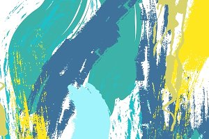Abstract texture painted by hand