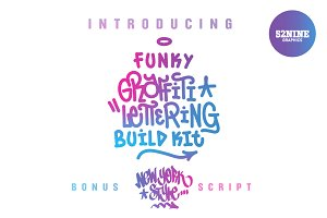 Graffiti Lettering Build Kit + Bonus